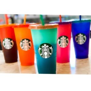New Starbucks Color Changing Cold Cups